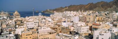 High Angle View of a City, Muttrah, Muscat, Oman