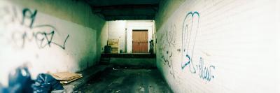 Interiors of a Garage, Montreal, Quebec, Canada