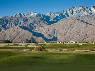 Golf Course with Mountain Range, Desert Princess Country Club, Palm Springs
