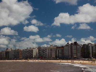 Apartments on the Beach, Playa Pocitos, Pocitos, Montevideo, Uruguay