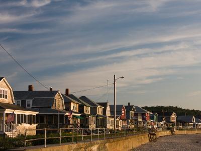 Beach Houses, Long Beach, Rockport, Cape Ann, Massachusetts, USA