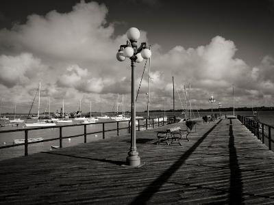Lamppost on the Jetty, Colonia Del Sacramento, Uruguay