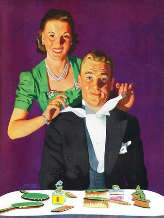 """Tying a Tux Tie,"" April 26, 1941"