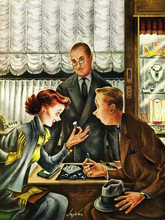 """Engagement Ring,"" May 7, 1949"