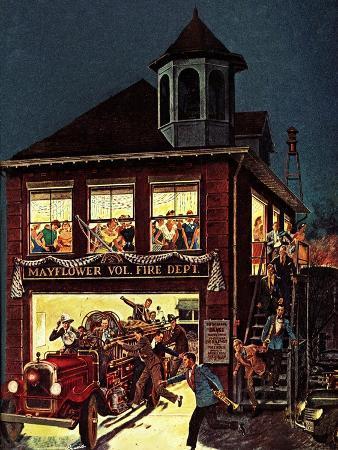 """""""Fireman's Ball,"""" February 1, 1982"""
