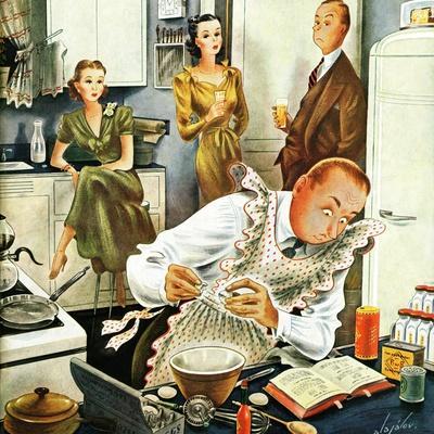 """""""Gourmet Cook?,"""" April 13, 1946"""