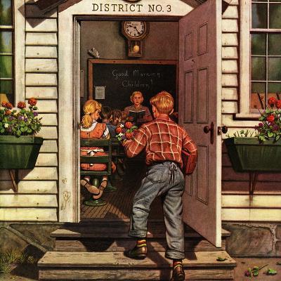"""""""Flowers for Teacher,"""" September 7, 1946"""