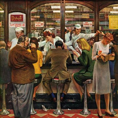 """""""Lunch Counter,"""" October 12, 1946"""