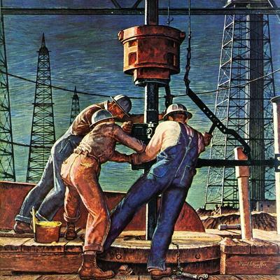 """""""Drilling for Oil,"""" November 9, 1946"""