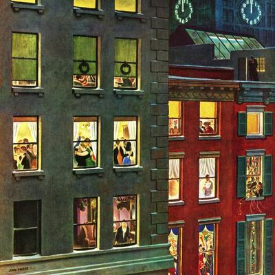 """""""Apartment Dwellers on New Year's Eve,"""" January 3, 1948"""