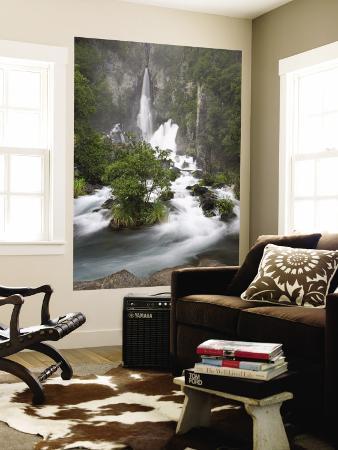 Tarawera Falls, Tarawera River, North Island, New Zealand