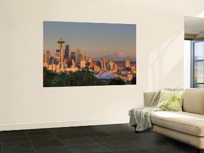 Skyline From Kerry Park, Seattle, Washington, USA