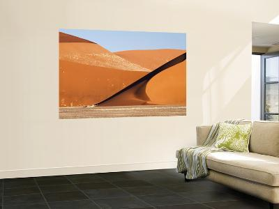 Abstract of Sand Dunes, Sossusvlei, Namibia, Africa