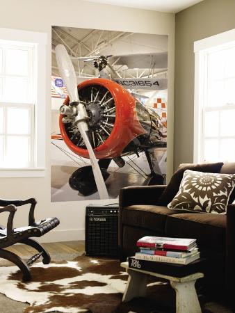 1930s-Era Number 44 We Will Racing Airplane, Weddel-Williams Air Racing Museum, Patterson, LA