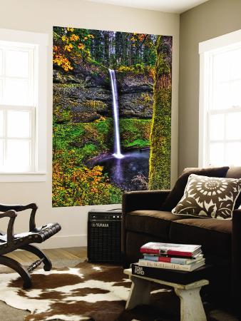 South Falls at Silver Falls State Park, Oregon, USA