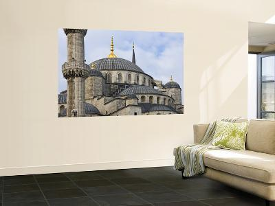 Domes and Minarets of Sultan Ahmet's Blue Mosque in Sultanahmet
