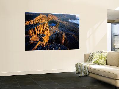 Morning Light on Cliffs