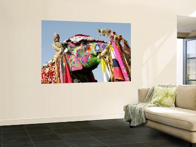 Colourful Elephants at Elephant Festival