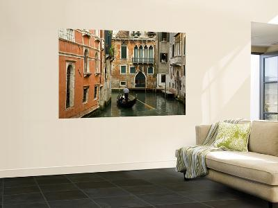 Gondola on Canal in San Marco District