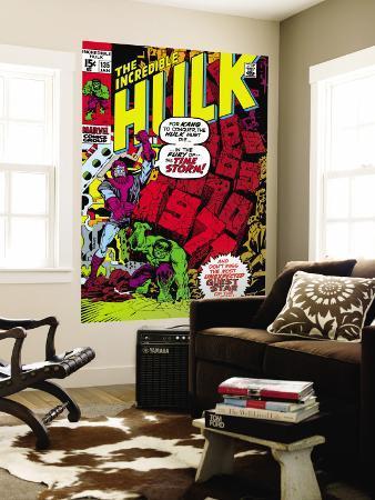Incredible Hulk No.135 Cover: Hulk and Kang Lifting