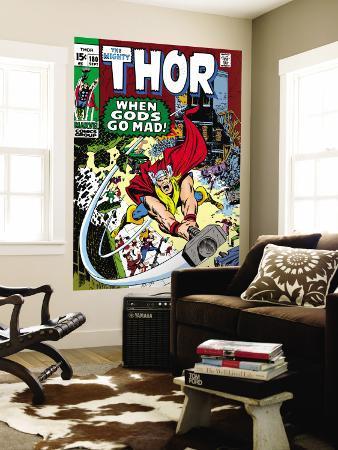Thor No.180 Cover: Thor