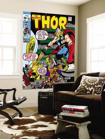 Thor No.181 Cover: Thor and Balder