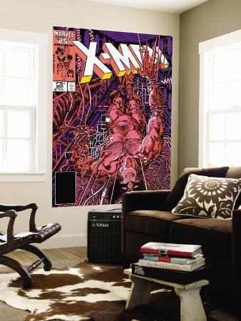 Uncanny X-Men No.205 Cover: Wolverine