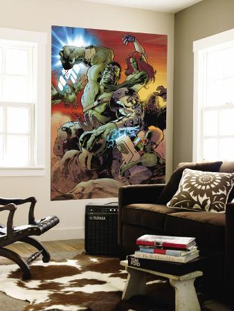 World War Hulk: Gamma Corps No.3 Cover: Hulk