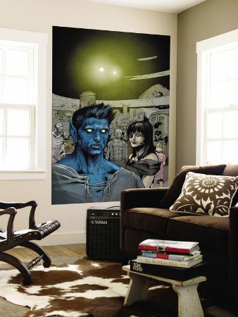 Ultimate X-Men No.83 Headshot: Nightcrawler, Callisto and Caliban