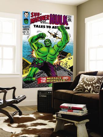 Tales to Astonish No.85 Cover: Hulk