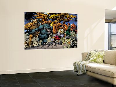 Marvel: Monsters On The Prowl No.1 Group: Fin Fang Foom, Mole Man, Moloids and Goom