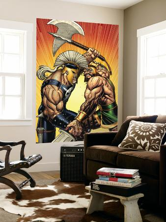 Incredible Hercules No.113 Cover: Hercules and Ares