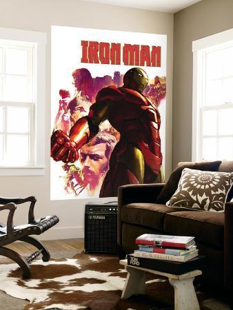 Iron Man No.15 Cover: Iron Man, Hulk, Thor, Stark and Tony