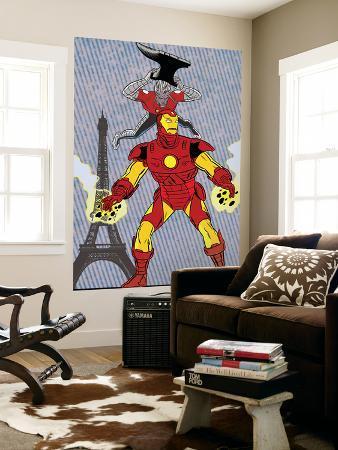 X-Statics No.24 Cover: Iron Man and Mr. Sensitive