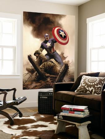 Captain America Theater Of War: America The Beautiful No.1 Cover: Captain America
