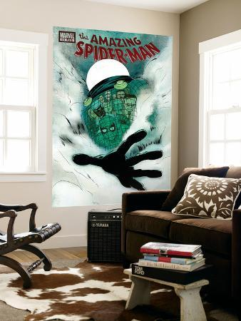 The Amazing Spider-Man No.618 Cover: Mysterio