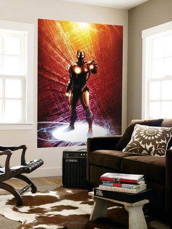 Invincible Iron Man No.14 Cover: Iron Man