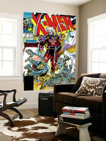 X-Men No.2 Cover: Magneto and Professor X