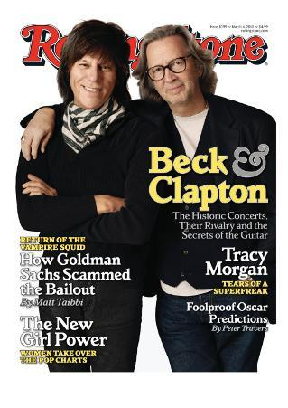 Beck and Clapton, Rolling Stone no. 1099, March 4, 2010