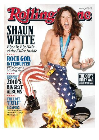 Shaun White, Rolling Stone no. 1100, March 18, 2010