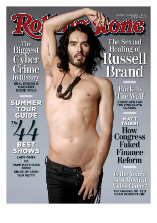 Russell Brand, Rolling Stone no. 1106, June 10, 2010