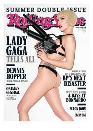 Lady Gaga, Rolling Stone no. 1108 - 1109, July 8 - 22, 2010