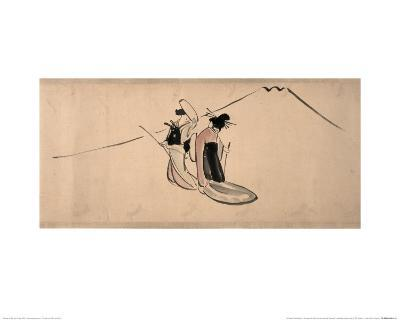 Chûshingura ('Treasury of the Forty-Seven Loyal Retainers'), a Handscroll Painting
