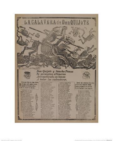 La Calavera De Don Quijote