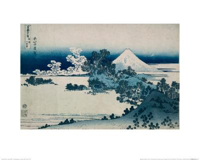 Shichiri Beach in Sagami Province, Katsushika Hokusai, Japan, Edo Period 1830-1833
