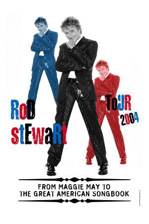 Concert Poster: Rod Stewart, Tour 2004
