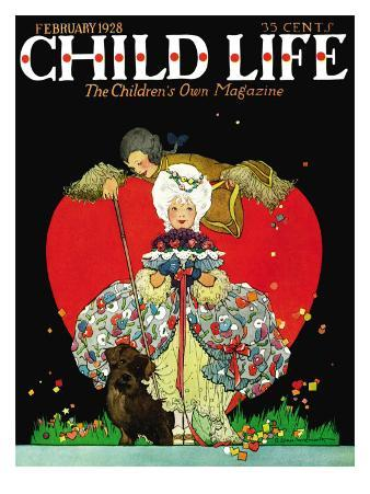 Queen of Hearts - Child Life, February 1928