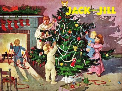 Deck the Halls - Jack and Jill, December 1950