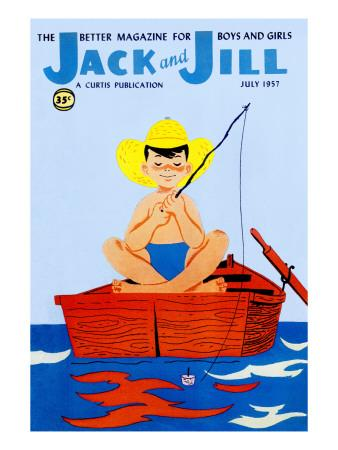 Summer Day - Jack and Jill, July 1957