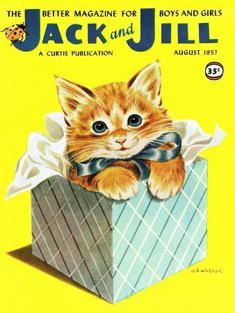 Kitten - Jack and Jill, August 1957